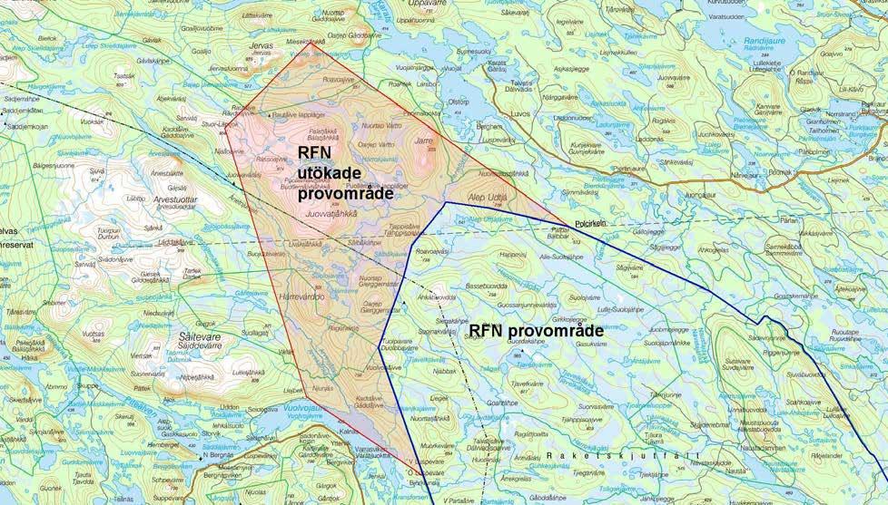 arjeplog karta Tillfällig utökning av provområde/militärt skyddsobjekt  arjeplog karta